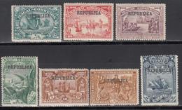 1913 Yvert Nº 165, 166, 167, 168, 169, 171, 172, MNH. - Neufs