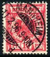 D-REICH KRONE ADLER Nr 47d Zentrisch Gestempelt X68EDAA - Deutschland