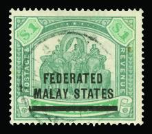 O Malaya (Federated States) - Lot No.839 - Postage Due