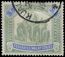 O Malaya (Federated States) - Lot No.840 - Postage Due