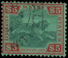 O Malaya (Federated States) - Lot No.842 - Postage Due