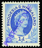 ** Rhodesia And Nyasaland - Lot No.1194 - Rhodesia & Nyasaland (1954-1963)