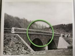 Photo Original 1952, Rte La Roche-Houffalize, Pont D'Achouffe - Houffalize