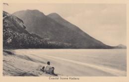 Coastal Scene Kadavu Island, Fiji, C1920s/30s Vintage Postcard - Fidschi