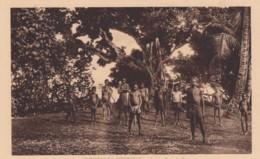 New Hebrides, Vanuatu, Young Boys Of Paouma, C1920s/30s Vintage Postcard - Vanuatu