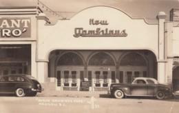 Mexicali (Baja California) Mexico, New Gambinos Cafe Exterior View, Auto, C1940s/50s Vintage Real Photo Postcard - Mexico