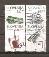 Eslovenia Yvert Nº 49-52 (usado) (o) - Eslovenia