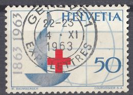 HELVETIA - SUISSE - SVIZZERA - 1963 - Yvert 709, Usato. - Usati