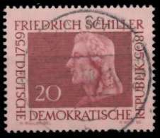 DDR 1959 Nr 734 Zentrisch Gestempelt X8B8BEE - DDR