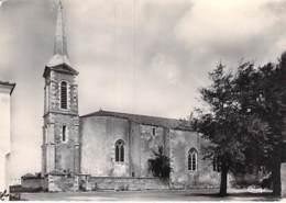 17-  ILE DE RE - ST CLEMENT Des BALEINES L'Eglise - CPSM Village (630 Habitants) Dentelée N/B GF 1961 Charente Maritime - Ile De Ré