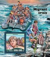 Sierra Leone, 2016. [srl16710] Migrant Crisis (s\s+m\s) - Stamps