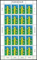 Faroe Islands 2000_ Europa Stamps _ Tower Of 6 Stars - MNH ** - Isole Faroer