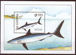 Gambia MiNr. Bl. 77 ** Fische - Gambia (1965-...)