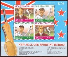 Neuseeland MiNr. Bl. 34 ** Gesundheit Der Kinder: Sportler - Neuseeland