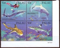 Palau MiNr. 614/17 ** Haie Im Viererblock - Palau