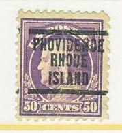 U.S. 517    Perf.  11   *    RHODE  ISLAND   1917 Issue - United States