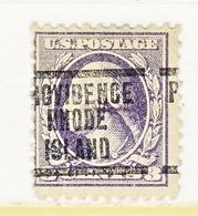 U.S. 530    Perf.  11 Type IV   *    RHODE  ISLAND   1918 Issue - United States