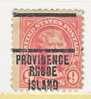 U.S. 561   *    RHODE  ISLAND   1922-25  Issue - United States