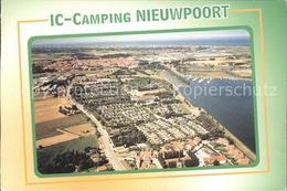 72039899 Nieuwpoort West-Vlaanderen IC Camping Fliegeraufnahme - Autres