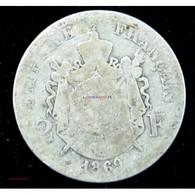 NAPOLEON III - 2 Francs 1869 BB STRASBOURG - France