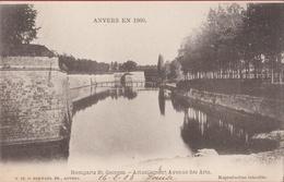 Spaanse Omwalling Anvers En 1860 Remparts St Georges Actuellement Avenue Des Arts (In Zeer Goede Staat) 1903 - Antwerpen