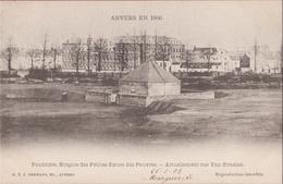 Anvers En 1860 Poudriere Hospice Des Peites Soeurs Des Pauvres Rue Van Straelen Antwerpen (In Zeer Goede Staat) 1903 - Antwerpen