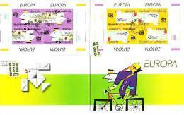 "2008 Europe CEPT ""Writing Letters"" Booklet  - USED/ Oblitere ( O) Bulgaria / Bulgarie - Bulgarien"
