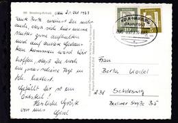 KÖLN-HAMBURG BAHNPOST A ZUG 0521 22.10.63 Auf AK (Freundliche Grüße Aus Refrath) - Unclassified