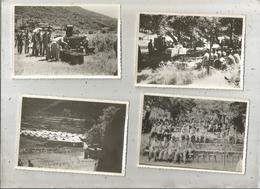 Photographie , Issue D'un Album , Militaria , LOT DE 4 PHOTOGRAPHIES - War, Military