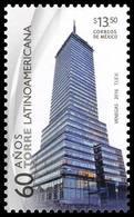 2016 MEXICO Torre  Latinoamericana LATIN AMERCIAN TOWER  MEXICO CITY'S DOWNTOWN EMBLEM, MNH ARCHITECTURE - Messico