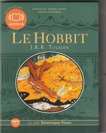 CD  Livre Lu  LE HOBBIT  De Tolkien  AUDIOLIB  Etat: TTB Port 190 GR - Non Classés