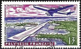French Polynesia 1960 - Mi 19 - YT Pa5 ( Plane & Airport Faaa Of Papeete ) MH * - Gebruikt