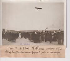 Issy-les-Moulineaux CIRCUIT DE L'EST LEBLANC ARRIVE 1er 18*13CM Maurice-Louis BRANGER PARÍS (1874-1950) - Aviación