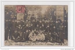 LONGWY : Carte Photo De Militaires Pendant Les Grèves De 1905 (texte Amusant) - Très Bon état - Longwy