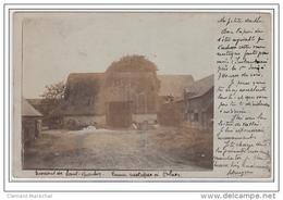 HOLNON, Environs De SAINT QUENTIN : Carte Photo D'une Ferme En 1905 - Très Bon état (un Petit Pli D'angle) - France
