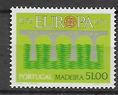 Portugal  (Madeira)1984 EUROPA Stamps - Bridges - The 25th Anniversary Of CEPT  MNH - 1910-... República