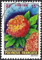 French Polynesia 1962 - Mi 20 - YT 15 ( Flowers ) - Polynésie Française