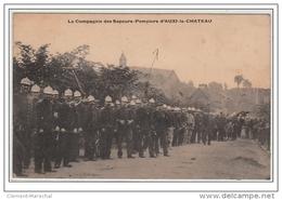 AUXI LE CHATEAU : Les Sapeurs Pompiers - Très Bon état - Francia