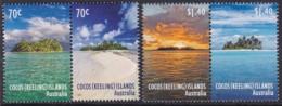 Cocas Keeling Islands 2015 Beaches  Mint Never Hinged - Kokosinseln (Keeling Islands)