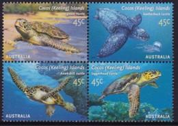 Cocos Keeling Islands 2002 Turtles Sc 336 Mint Never Hinged - Kokosinseln (Keeling Islands)