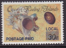 Cocos Keeling Islands 1990 Ovpt Sc 225 Mint Never Hinged - Kokosinseln (Keeling Islands)
