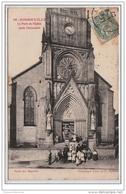 DOGNEVILLE : La Porte De L'Eglise Après L'inventaire - Etat - France