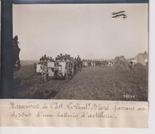 MANOEUVRES DE L'EST LIUT BLARD PASSANT DESSUS BATTERIE D'ARTILLERIE 18*13CM Maurice-Louis BRANGER PARÍS (1874-1950) - Aviación