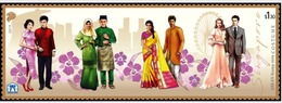 Ref #2578 Singapore 2019  2019 ASEAN Issue - National Costumes - Singapore (1959-...)