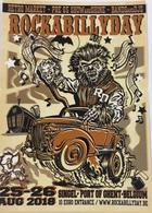 (795)  Rock A Billy Day - Doodskop - Muzieknoten - Bambi - Monster - Singel - Gent - Publicité