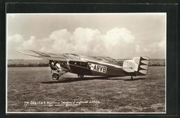 AK Flugzeug Wessex G-ABVB Auf Dem Landeplatz - Flugzeuge