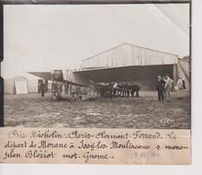 PRIX MICHELIN PARIS CLERMONT FERRAND DÉPART MORANE ISSY LES MOULINEAUX 18*13CM Maurice-Louis BRANGER PARÍS (1874-1950) - Aviación