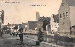 Malines - Mechelen -  Quai Au Sel (L Lagaert Zoutkaai Animation Gekleurd) - Malines