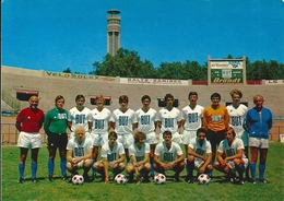 CPM Equipe Olympique De Marseille Championne De France 1971 Stade Vélodrome Skoblar Magnusson Carnus - Soccer