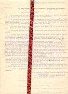 Brief Lettre - Weduwe Ballegeer Ed. - Sylvie Vermeulen  Maldegem Donk - Naar Kadaster 1930 ( 2 Stuks ) - Vieux Papiers